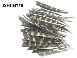 penas de peru flechas Desconto 60 pk arco tradicional flecha de madeira de bambu fletches 4