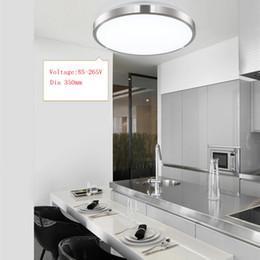 Luces de techo de 10pcs / LOT LED Dia 350mm 220V 230V 240V 16W 36W 45W Lámpara llevada Luces de techo llevadas modernas para la sala de estar Ayuda desde fabricantes