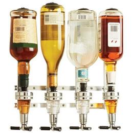 Wholesale Dispenser Bottle Holder - House 4-Bottle Liquor Dispenser Party