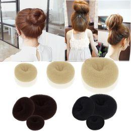 Wholesale Hair Styler Magic Bun - Lady Girl Magic Blonde Donut Hair Ring Bun Former Shaper Hair Styler Maker Tools