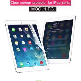 Wholesale Ipad Piece - Good HD clear screen protector for apple 2017 ipad pro 10.5 9.7 12.9 air mini 1 2 3 4 film