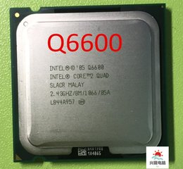 Wholesale Desktop Cpu 775 Socket - Core 2 Quad Q6600 CPU Processor 2.4Ghz  8M  1066GHz q6600 Socket 775 Desktop CPU