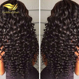 Wholesale Indian Curly Hair For Sell - Top Selling Peruvian Full Lace Wigs Wholesale Cheap Human Hair Full Lace Wigs Can Be Dyed Lace Front Wigs For Black Women