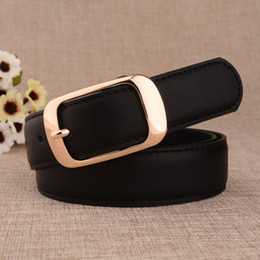 Wholesale Leather Clothes For Women - 2016 Cowskin Leather Fashion Brand Designer Belts for Women Buckle Belt Clothes Accessories Z-2388