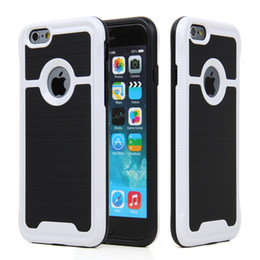 Wholesale Hot Selling Mobile Accessories - Hot selling I8 Phone Case Manufacturer Wholesale Mobile Phone Accessories For iPhone 6 Hybrid Combo Case