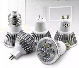 Canada CREE haute puissance Led Lampe 9W 12W 15W Dimmable GU10 MR16 E27 E14 GU5.3 B22 Led Spot Spot Led ampoule downlight chaud blanc pur cheap led 12v mr16 15w Offre
