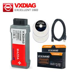 Wholesale Fd Free - Wholesale-100% High Quality V98 VXDIAG VCX NANO for Fd Mazda 2 in 1 professional diagnostic tool DHL free