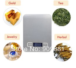 Wholesale Food Diets - 5KG*1G Digital Electronic Kitchen Scale Stainless Steel Household Cooking Measure Tools Cake Food Diet Scales Baking Weight Balance