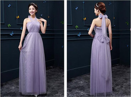Wholesale Stocking Groups - 2016 new pattern Full dress Full dresses Bridesmaid dresses Long Bridesmaid dress Sister group dresses Graduation gown Eight colors Free