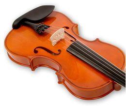 Hohe qualität Tanne violine 1/8 1/4 1/2 3/4 4/4 violine handwerk violino Musikinstrumente zubehör Kostenloser versand von Fabrikanten