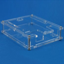 Wholesale Wholesale Arduino - Transparent Box Case Shell for Arduino UNO R3 not Raspberry pi model b plus B00310