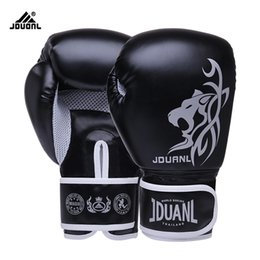 Wholesale Free Sports Gear - 10oz Free Shipping High Quality Pu Boxing Gloves Fighting Sports Wearable Breathable For Training Free Size