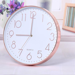 Wholesale Three Dimensional Wall Clocks - Living Room Clocks Office Simple Three-dimensional Numbers Clocks Modern Fashion Quartz Clock Decoration Clock Wall Clocks