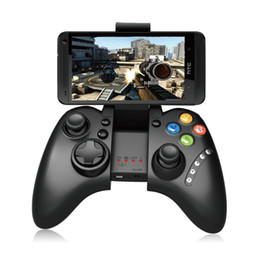 Wholesale controller gamecube - New PG-9021 PG 9021 Telescopic Wireless Bluetooth Game Controller Gamepad Game Pad Joystick for IPhone Pad IOS PC Gamecube