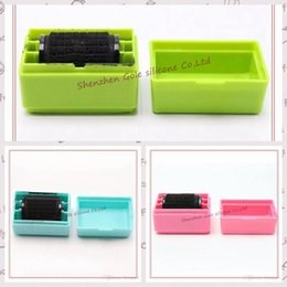 Wholesale Security Id - Security Hide ID Garbled Self-Inking Rubber Stamp Protect Identity Theft Sticks
