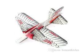 Wholesale Wholesale Foam Glider - 2016 DIY 360 Degree Magic Swing plane Foam Plane Aeroplane Party Bag Fillers Kids Children Diy Toys
