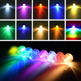 Wholesale Chinese Paper Lanterns Wedding - Submersible Waterproof LED Mini Lights for Chinese Round Paper Lantern Wedding Party Floral Balloons lights RGB LED Lighting