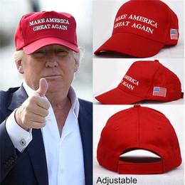 Wholesale Mesh Snapbacks - Make America Great Again Hat Donald Trump Cap GOP Republican Adjust Mesh Baseball Cap patriots Hat Trump for president