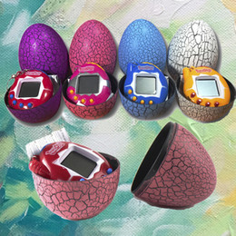 Wholesale Smart Eggs - Tamagochi Cracked egg shape Tumbler Electronic Interactive Digital Pets Toys Tamagotchi Smart Electronic Pets toys Christmas gift