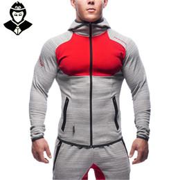 Wholesale Snapback S - Wholesale-Gym Aesthetics Revolution Gym Snapback Clothing Hoodie Men Bodybuilding Pullover Sweatshirt Fitness Jogging Sport Wear For Boys