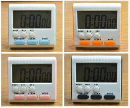 Wholesale Timer 24 Hours Digital - Magnetic Large LCD Digital Kitchen Timer Alarm Count Up Down Clock 24 Hours