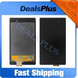 Wholesale Nexus Replacement Display - Wholesale- Replacement New LCD Display Touch Screen Assembly For Asus Google Nexus 7 2nd Gen 2013 ME571K ME571KL K008 Black Free Shipping