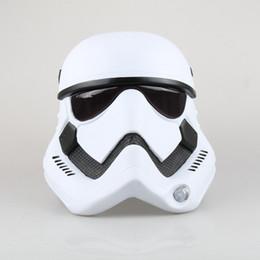 Wholesale Stormtrooper Helmets - Wholesale-Full Head Movie Star Wars Force Awakens Stormtrooper Cosplay Helmet PVC Unisex Mask Halloween Party