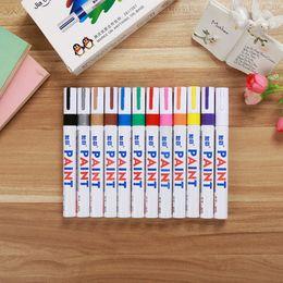 Wholesale Wholesale Art Furniture - 12 Color Graffiti Color Paint Pen Color Paint Furniture Graffiti Pen Paint Signs Stationery Marker Pen