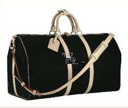 Кожаные сумки для мужчин цена онлайн-Оптовая цена продать высокое качество кожи окислять wome и человек Bandouliere Keepall Duffle Дорожная сумка