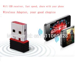 Wholesale External Satellite - USB Wireless Adapter 150Mbps Mini USB WiFi Wireless Network LAN Card USB Wi-Fi Dongles dongle satellite
