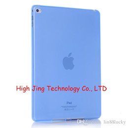 Wholesale Transparent Cover Ipad Mini - Smart cover transparent TPU soft case for ipad mini case for ipad 2 3 4 5 6 back case for ipad air 12