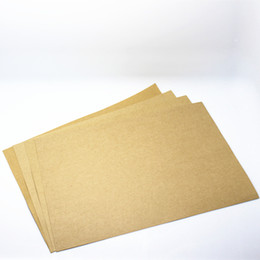 """Wholesale printing copy - Wholesale- 21*29.7cm 100Pcs  Lot Light Brown Standard Kraft Paper A4 Writing Paper Office School Supplies 8.26""""x11.69"""" Copy Printing Papers"""
