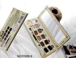 Wholesale Nude Naked - New Balm Nude Highlighter Brand Makeup Eyeshadow palette Women Cosmetics eye shadow 12 Colors Factory Direct Sale kylie mor mua lorac naked