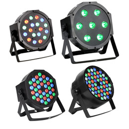 Wholesale Led Bar 18 - DMX512 RGB 18 LED DJ Disco Light Party Light Projector Lights for Background Wedding KTV Show Club Bar Xmas Decoration