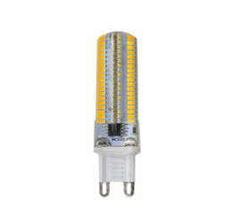 Wholesale Bi Pin Bulbs - Dimmable G9 7W 450LM 152LED White   Warm White Bulbs 3014SMD Corn Light Bi-Pin Lamp AC 220V
