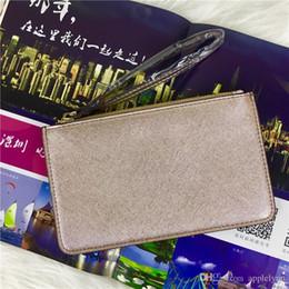 Wholesale Wholesale Mini Envelopes - brand designer wristlets women wallet purses many colors Clutch Bags coins bag