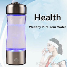 Wholesale Ozone Generator Water - Rich Water Generator In Hydrogen Ionizer Water Canteen Bottle Of Super Ionization Capacity H2 None Ozone & Chlorine