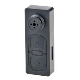 Diseño de mini cámara online-10 unids / lote Nueva Llavero Diseño Mini Videocámara Portátil Ligero Super Mini Cámaras Grabadora de Seguridad Portátil Mini Botón DV
