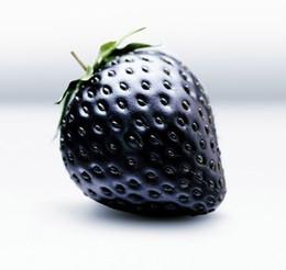 Piantare fragole online-Bonsai di frutta Black Strawberries Strawberry Seeds Frutta Rara decorazione giardino pianta 20pcs A79