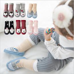 Wholesale Socks Baby Rubber Soled - Baby Socks Newborn Winter Floor Socks Toddler Cotton Anti Slip Glue Footwear Kids Fashion Slipper Socks Non-slip Rubber Soles Booties B2914