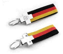 Wholesale R Key Rings - Germany VW R Golf 6 7 Tiguan Passat CC Jetta MK4 MK6 leather emblem key logo keychain key ring car accessories for VOLKSWAGEN