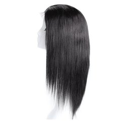 Wholesale Cheap Hair Ties - Unprocessed Peruvian Full Lace Wig Glueless Lace Front Peruvian Virgin Hair Wig Cheap Human Hair Lace Wig FreeShipping