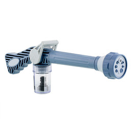 Cannoni d'acqua online-Cannone ad acqua Jet multifunzione 8 in 1 Turbo Spray Gun Car Garden