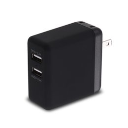 Wholesale Usb For Ipads - Universal Dual USB Wall Charger 24W 4.8A Dual 2 USB Port Travel Wall Charger Foldable Plug Charging for Apple iPhone Samsung iPads iPods