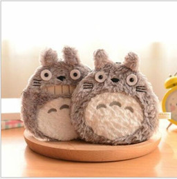 Wholesale Cute Mini Wallets Keys - Mini Cute Cartoon Totoro Doll Coin Cases Key Purse Storage Bag Small Cartoon Cases Hot Sell