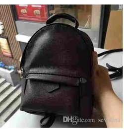 Wholesale Man Satchel Backpack - AAAA NEW 2017 BAG 100% leather NEW PALM SPRINGS BACKPACK MINI handbag SMALL NEW PALM SPRINGS BACKPACK MINI HANDBAG