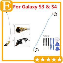 Wholesale Galaxy Signal Antenna - WiFi Antenna Signal WIre mast Flex Cable Ribbon For Samsung Galaxy S3 III i9300 i9305 I747 VS S4 GT-I9500 I9505 I337 Repair Parts
