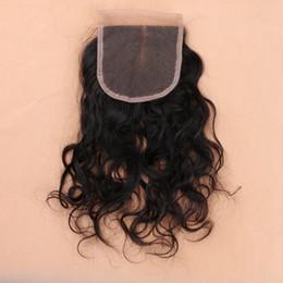 2019 влажное курчавое закрытие Малайзийский мокрый и волнистые швейцарские кружева закрытие 100% человеческих волос ткать свободные вьющиеся волосы дешево влажное курчавое закрытие