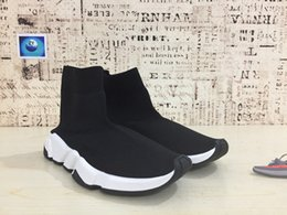 Wholesale Womens Black Boot Socks - Sneaker VisVim Casual Shoes New Womens and Mens Speed Trainer stretch-knit Mid sneakers Movement creates the future boots high socks
