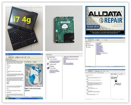 Wholesale Touch Screen Computer Laptop - alldata auto repair software v10.53 and mitchell on demand with laptop x201t (i7 4g) touch screen hdd 1tb diagnostic computer